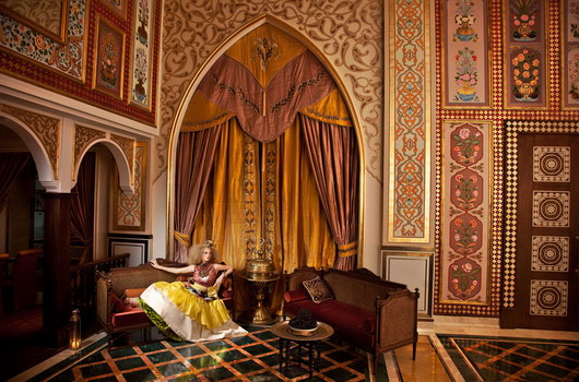 """Lalezar"" at the Jumeirah Zabeel Saray, Dubai for Jumeirah Magazine, 2011"